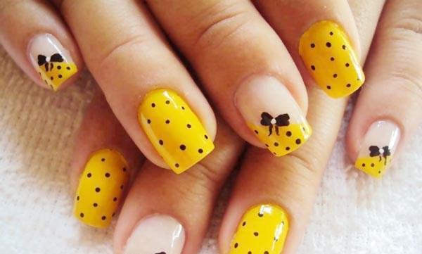 black-dots-bows-yellow-nails-Copy