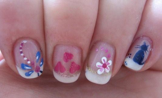 Inspired-Nail-Art-Design-for-Kids-in-Flower-Motive-Copy1