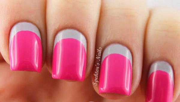 Grey_Neon_Pink_Ruffian_Nails_Essie_Lights_B-Copy