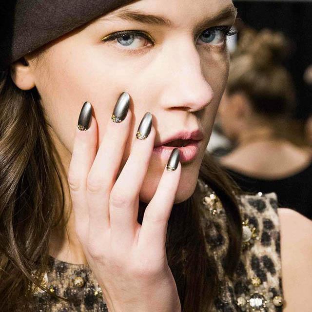 Chaki-reverse-French-nails-at-Deborah-Lippmann-at-Badgley-Mischka
