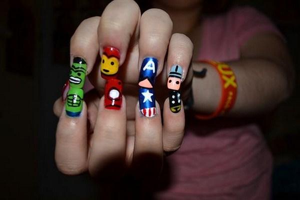 Avengers-nail-art (Copy)
