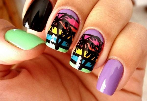 Cute-Beach-Nail-Art-Designs-2015-For-This-Summer (Copy)