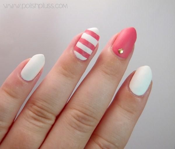 beach_striped_matte_nail_art_4 (Copy)