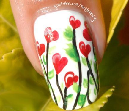 floral-hearts-nail-art22