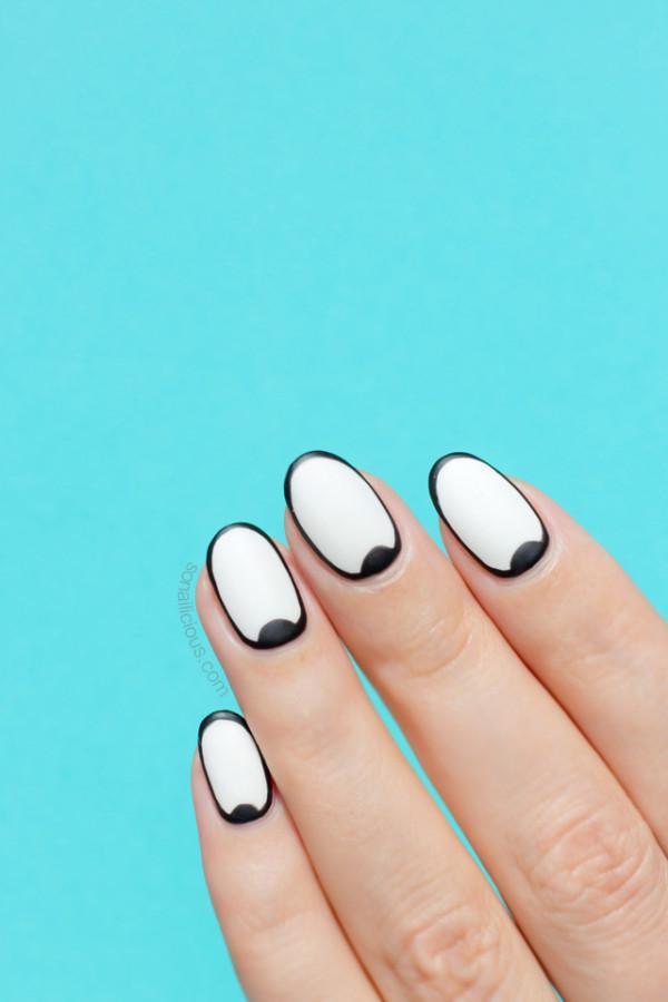 black-and-white-nail-art-1
