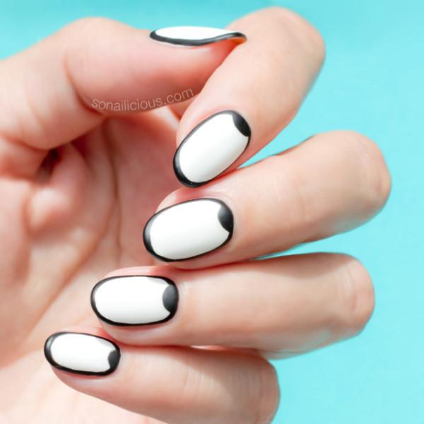 graphic-black-and-white-nail-art
