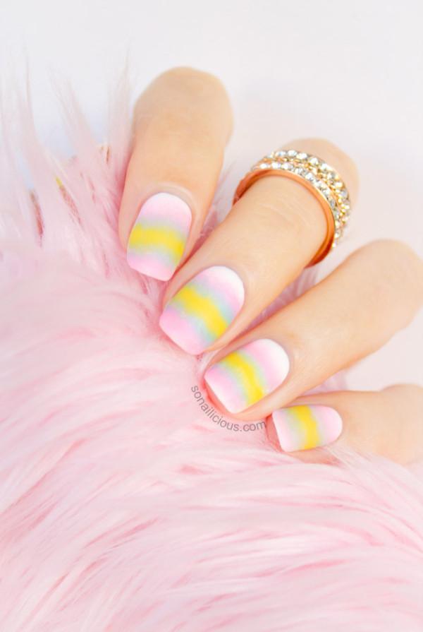 matte-pastel-nails