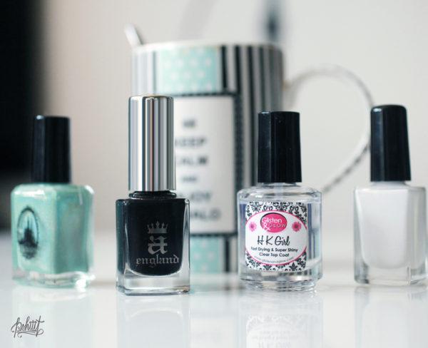 nail-art-mint-blanc-et-noir4