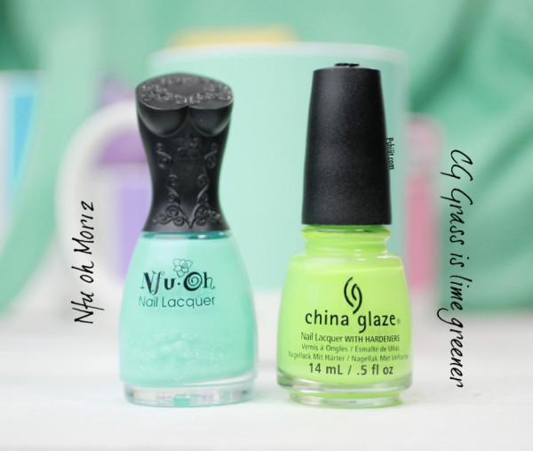 nail-art-mint-et-mini-triangle