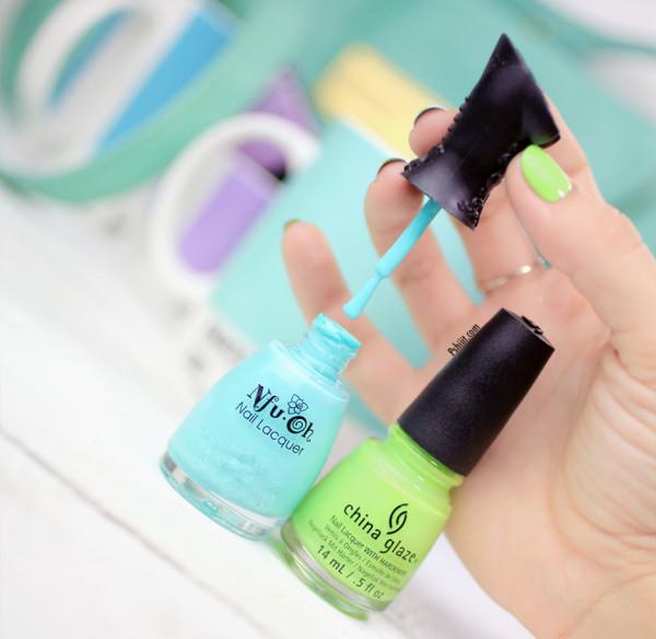 nail-art-mint-et-mini-triangle7