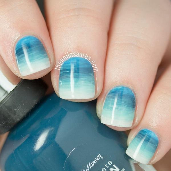beach-watercolour-gradient-nail-art