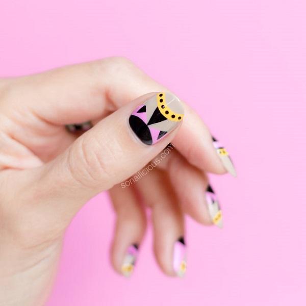 fendi-nal-art-geometric-nail-art
