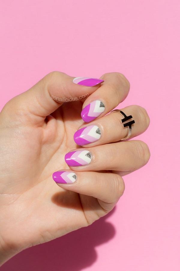purple-nails-pink-nails
