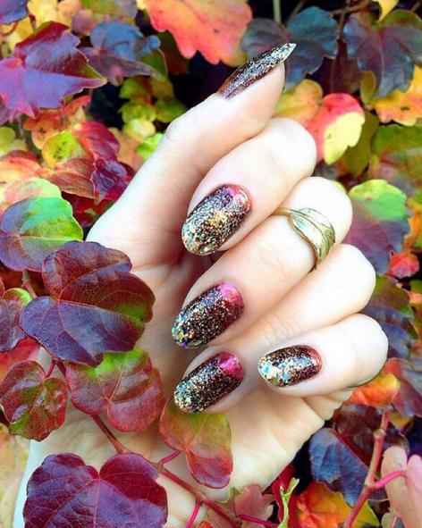 deborah-lippmann-glittering-fall-nail-art