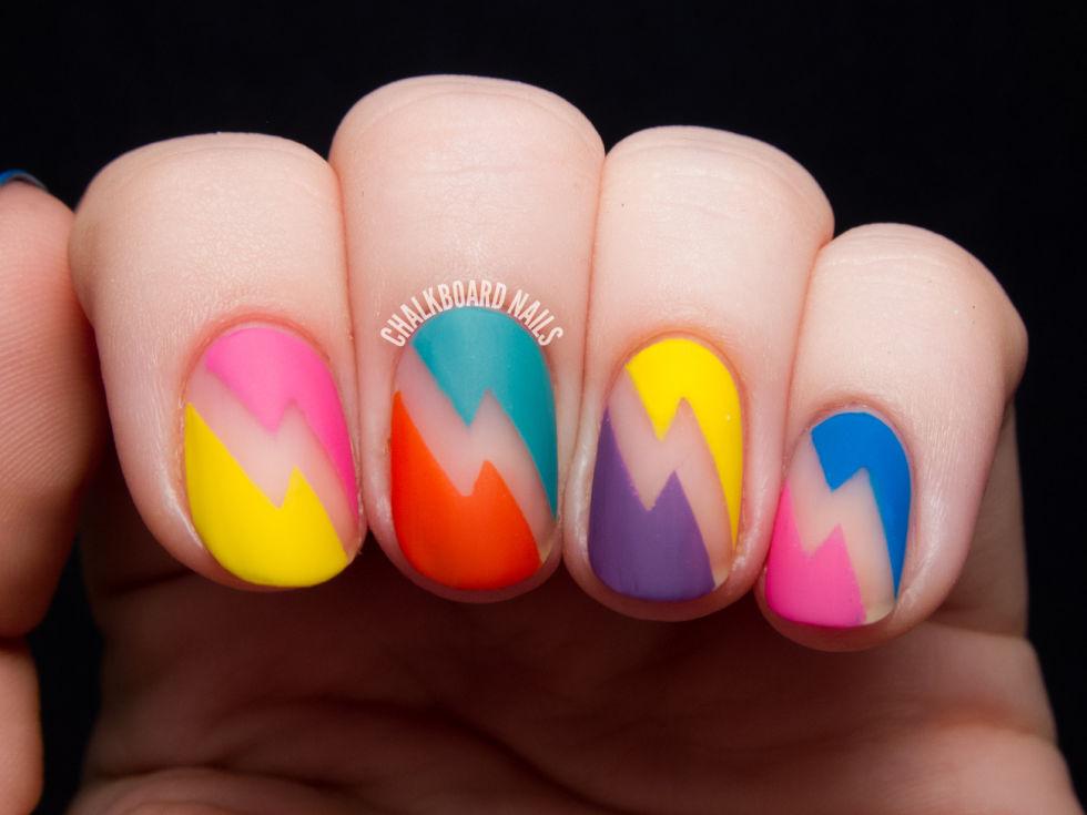 matte-nails-deborah-lippmann-80s-rewind-lightning-bolt-nail-art-1