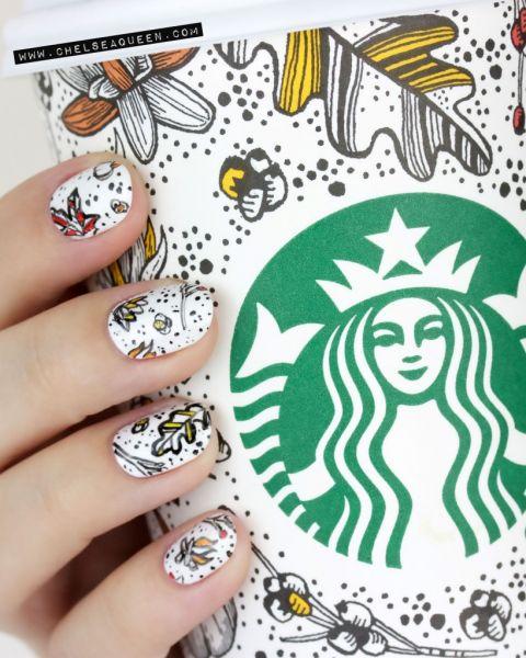 pumpkin-spice-latte-starbucks-cup-nail-art