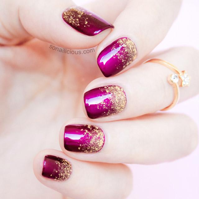 glitter-gradient-manicure