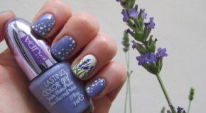 Hướng Dẫn Vẽ Nail: Hoa Oải Hương Cho Ngày Tết