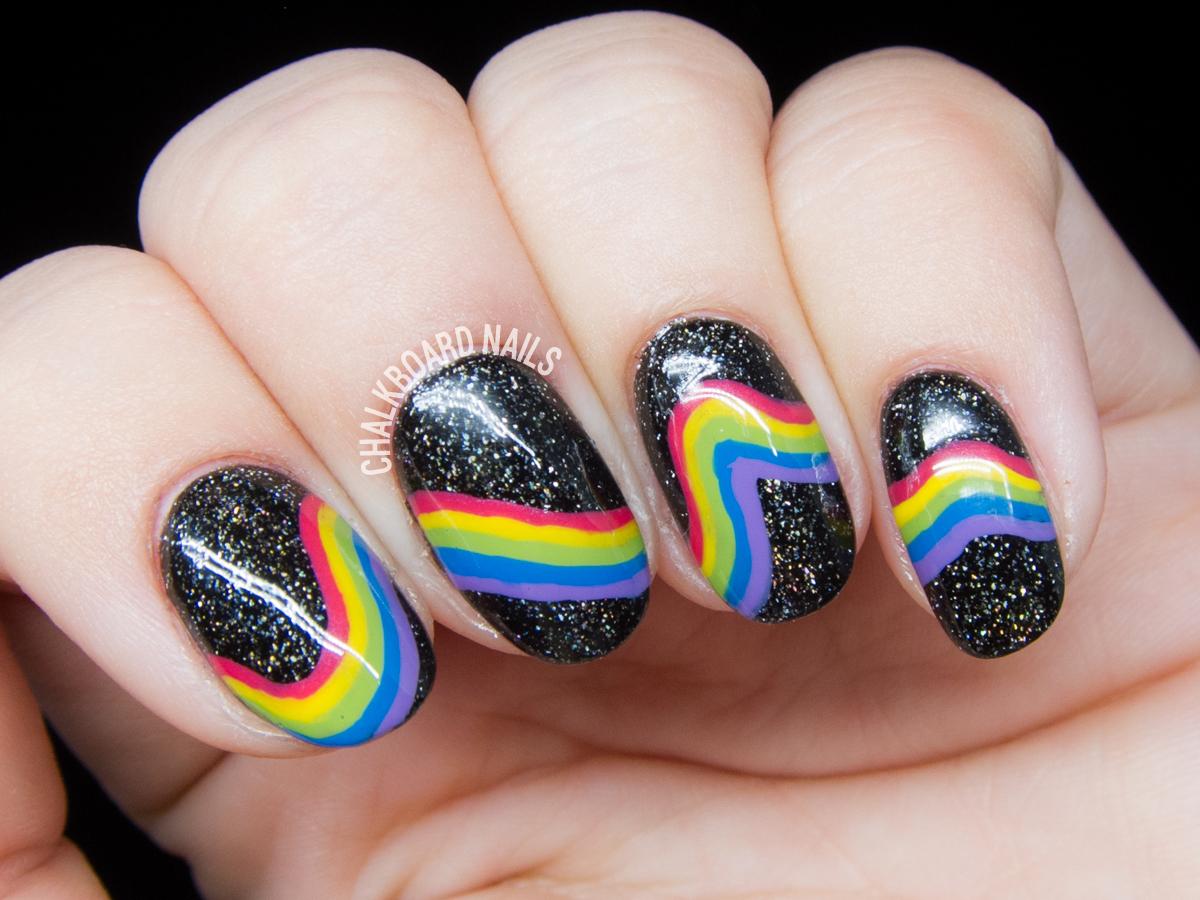 galactic-rainbow-inspired-nail-art-2