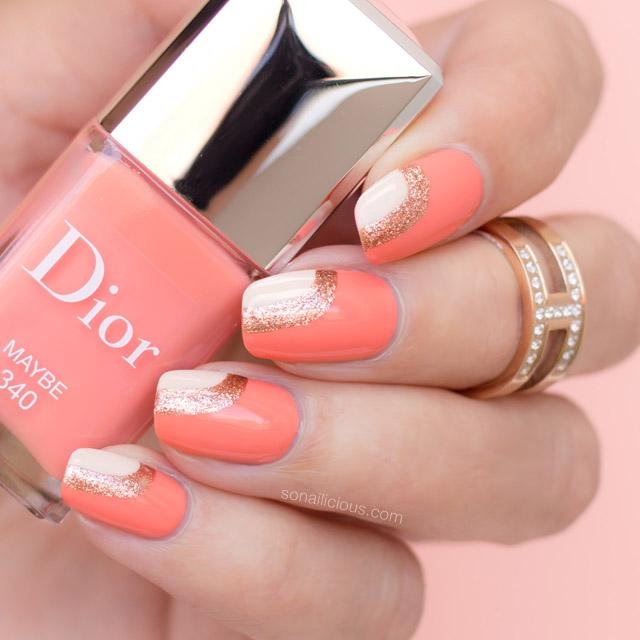 peach-nail-design-Dior-Maybe-swatch-1