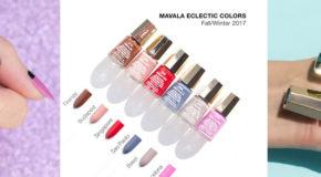 Hai Mẫu Nail Đẹp Được Vẽ Từ BST Mavala Eclectic Colors