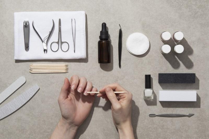 Dụng cụ học nail cơ bản cần chuẩn bị.