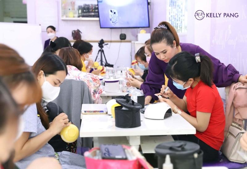 Trung tâm dạy học nghề nail chuyên nghiệp KellyPangNail