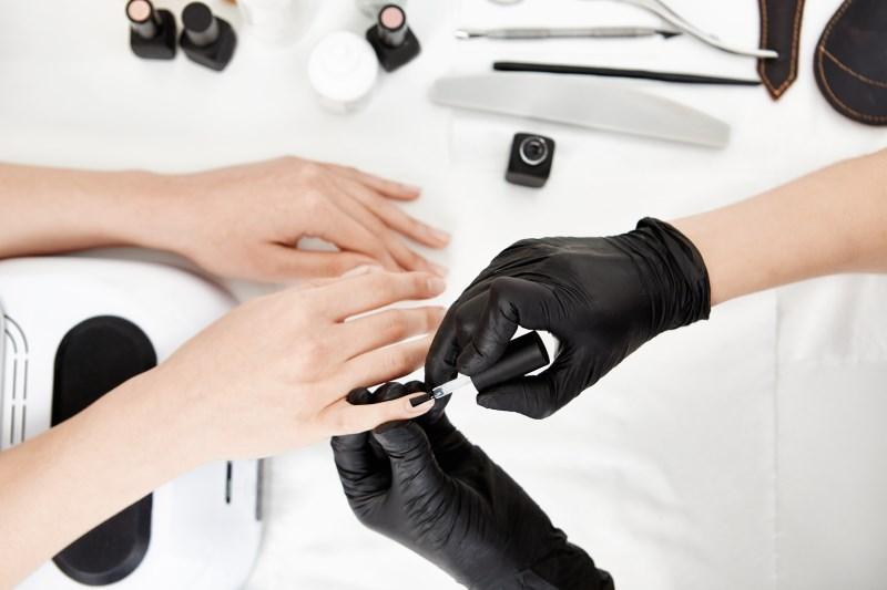 Khóa học nail chuyên nghiệp.