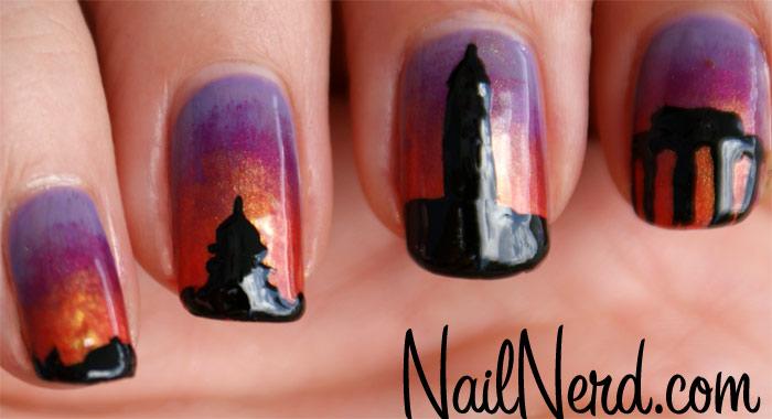 DC-nail-art