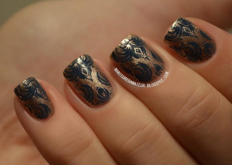 Metallic Stamping Mani