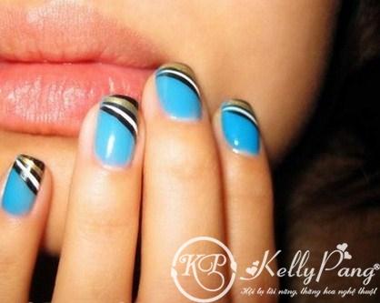 blue-short-nail-art-designs (Copy)