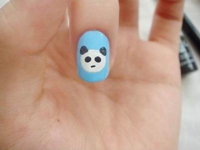 Hướng dẫn: Vẽ nail gấu trúc tinh nghịch