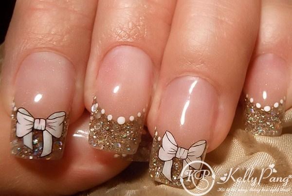 Бантики для ногтей