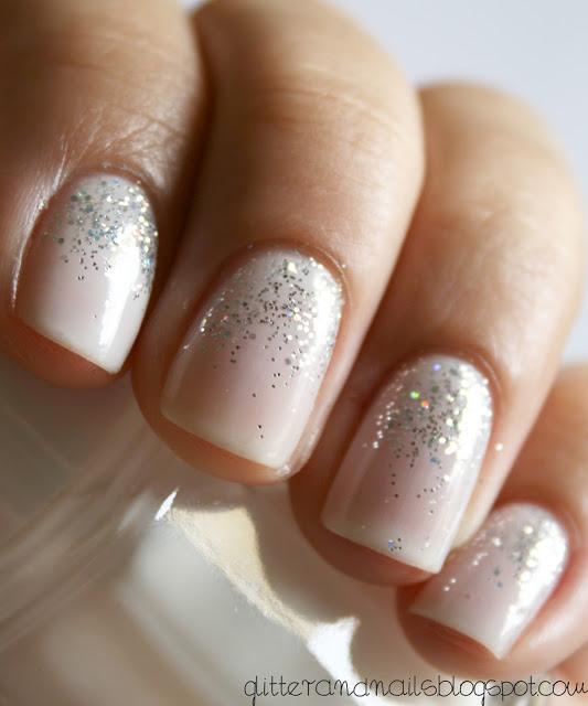 pink-glitter-bridal-nails