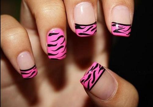 pink-zebra-nails