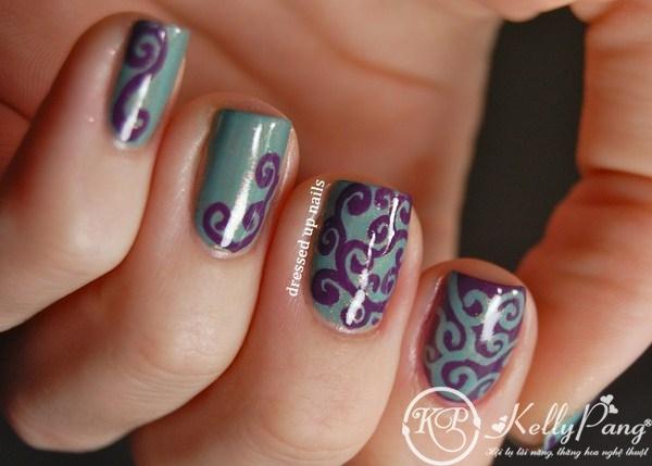 shimmery-purple-turquoise-swirl-easy-nail-art-3 (Copy)