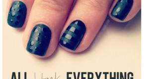 Kiểu nail tối màu cực điệu cho mùa thu